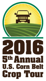 2016 5th Annual US Corn Belt Crop Tour logo