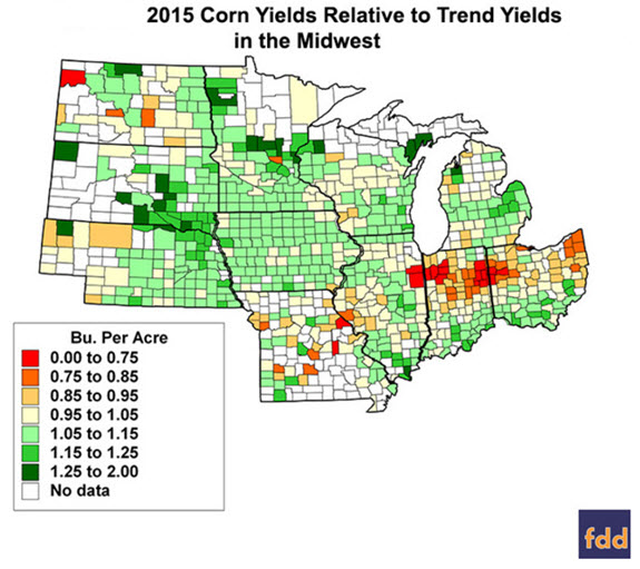 2015 Corn Yields