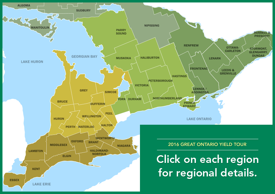 Click on each region for regional details.
